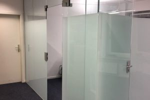Raumtrenner Glas ESG 10mm
